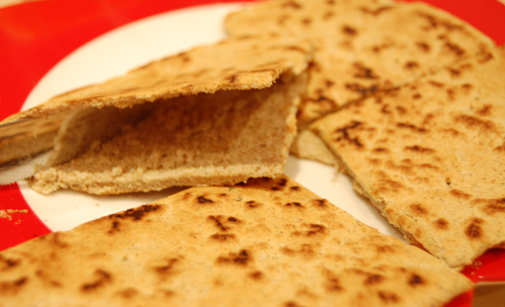 Post image for piadina Italian flatbread