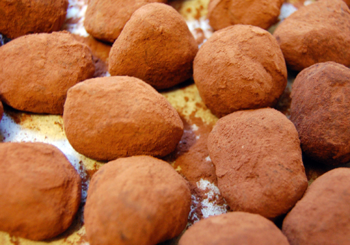 Post image for homemade chocolate truffles
