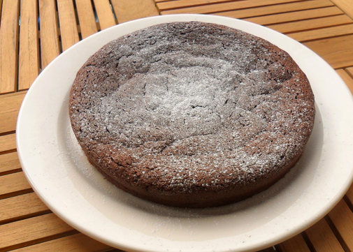 Post image for chocolate and almond cake