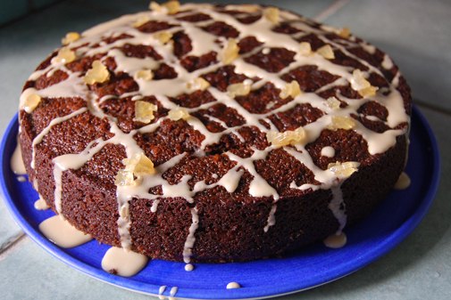 Post image for scrumptious gingerbread cake