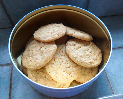 Post image for peanut butter cookies