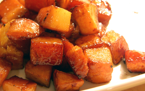 Post image for wickedly easy maple roasted veg
